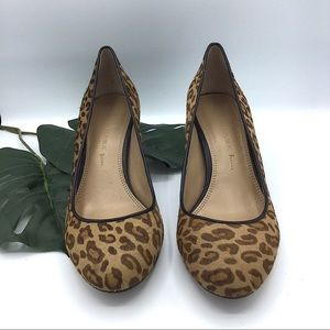 Banana Republic Shoes - Banana Republic | Leopard Print Pony Calf Hair 6.5